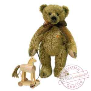 Teddy micky bicolore couleur or Clemens Spieltiere -88.202.038