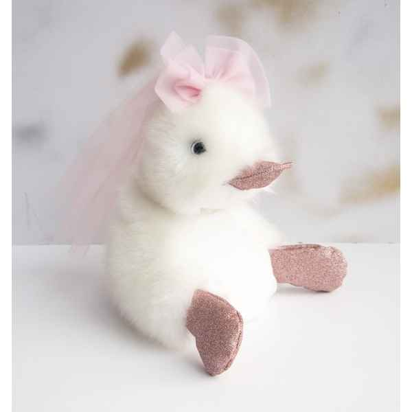 Peluche coin coin just married - 18 cm -CC7013