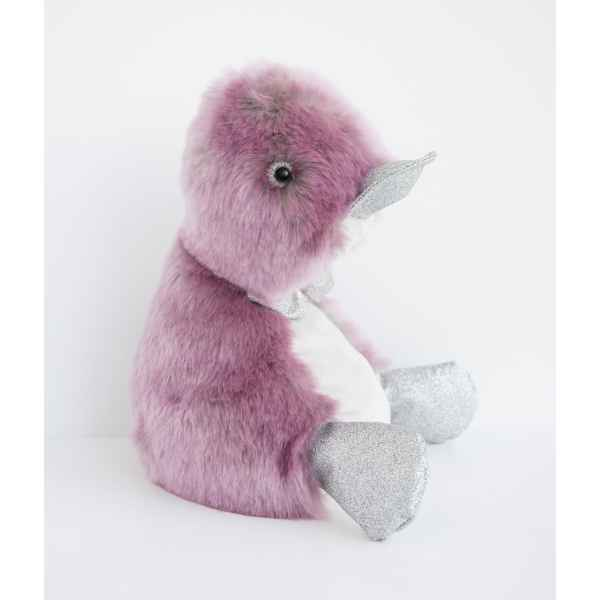 Peluche coin coin orchidee - 30 cm -CC7063