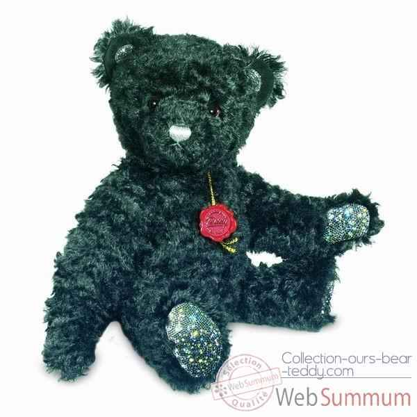 "Peluche Ours Teddy Bear \""crystal edition\\\"" bruité Hermann Teddy original 40cm 12336 1"