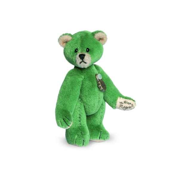Mini ours teddy bear vert 6 cm Hermann -15408 2