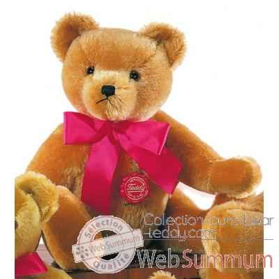Nostalgic teddy old-gold avec voix 40 cm peluche hermann teddy original edition limitee -16340 4