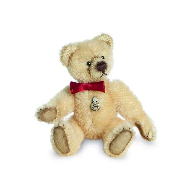 Ours en peluche de collection antique dore 10 cm hermann -15488 4