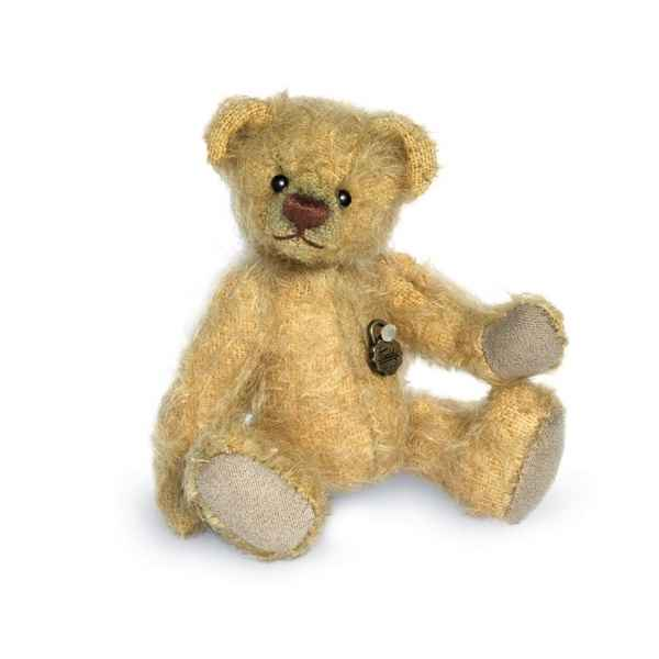 Ours en peluche de collection luka 10 cm hermann -15278 1