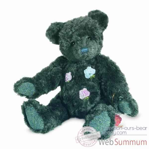 Peluche Ours rose avec elements swarovski Hermann Teddy original 35cm 12328 6