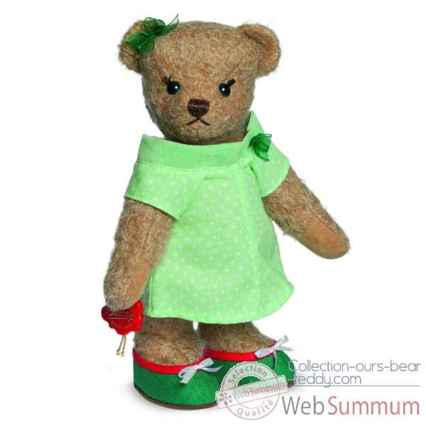 Ours teddy bear amy 25 cm Hermann -11728 5