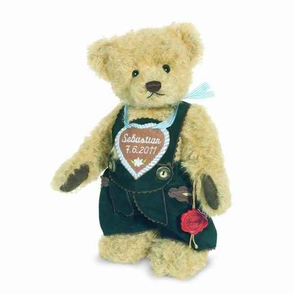Peluche Ours Teddy bear habillé Hermann Teddy original 26cm 17254 3