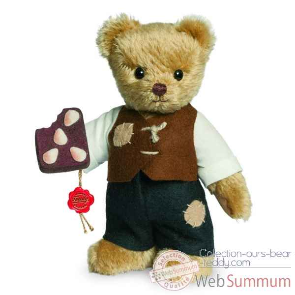 Ours teddy bear hansel 17 cm Hermann -11846 6
