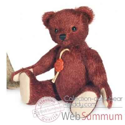 Ours teddy bear lutz 20 cm peluche hermann teddy original edition limitee -11804 6