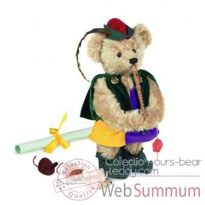 "Ours teddy bear \""pied piper of hamelin\\\"" 32 cm peluche hermann teddy original édition limitée -11829 9"