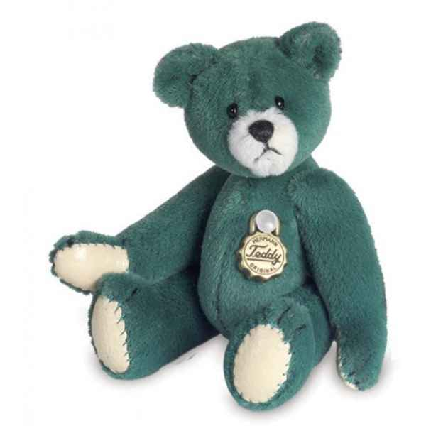 Peluche Ours Teddy vert Hermann Teddy original miniature 6cm 15365 8