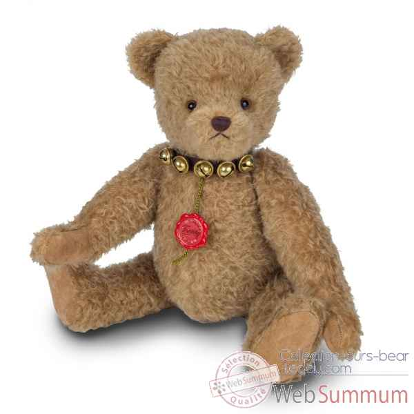 Peluche original hermann teddy our barni 44 cm bruiteur edition limitee 100 ex -16672 6