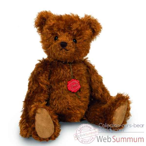 Peluche ours collection teddy bear burkhardt bruiteur 45 cm ed. limitee Hermann -14677 3