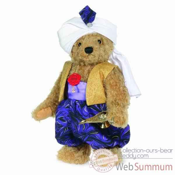 Peluche ours teddy aladin 34 cm collection ed. limitee 300 ex. hermann -11835 0