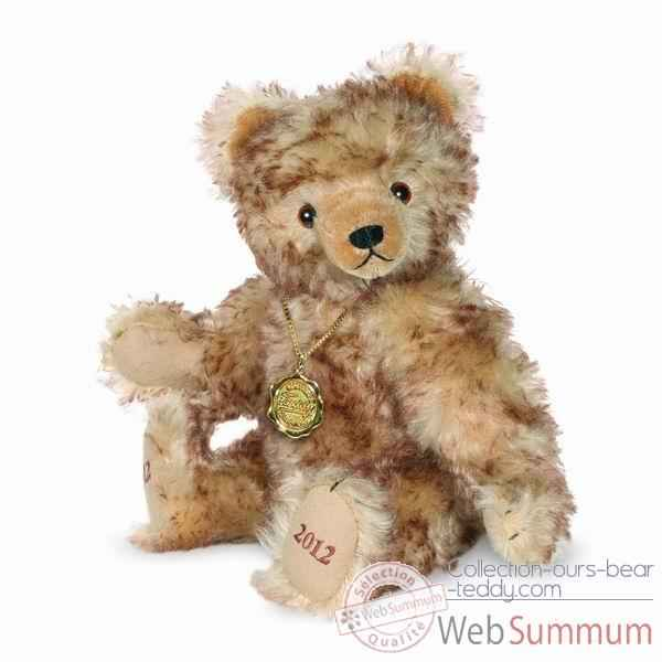 Peluche ours teddy bear 100 ans 30 cm collection ed. limitee hermann -14640 7