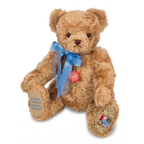 Peluche ours teddy bear 100 jahre bayern bruiteur 48cm collection ed. limitee Hermann -155485