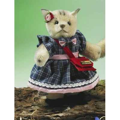 Miniature fille chat debout Hermann-Spielwaren -22081-5