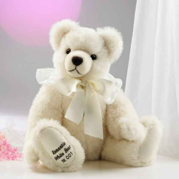 Romantique white bear Hermann-Spielwaren -12013-9
