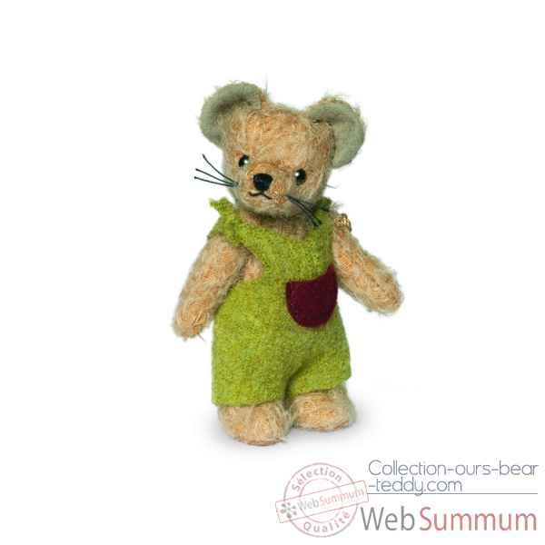 Teddy bear enfant souris - mohair 12 cm Hermann -17001 3