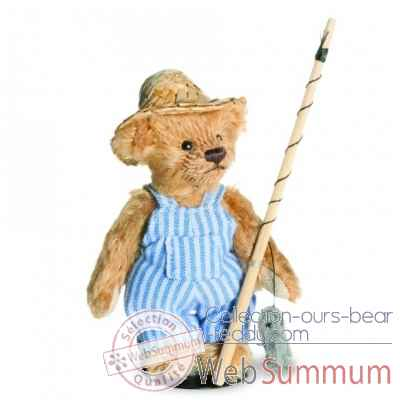 Peluche ours huckleberry finn mini teddy Hermann -16281 0