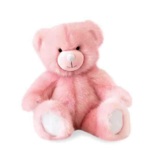 Peluche Ours collection 40 cm - rose sorbet histoire d\'ours -DC3451