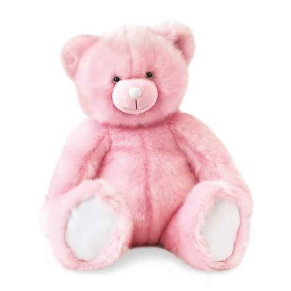 Peluche Ours collection 60 cm - rose sorbet histoire d\\\'ours -DC3456