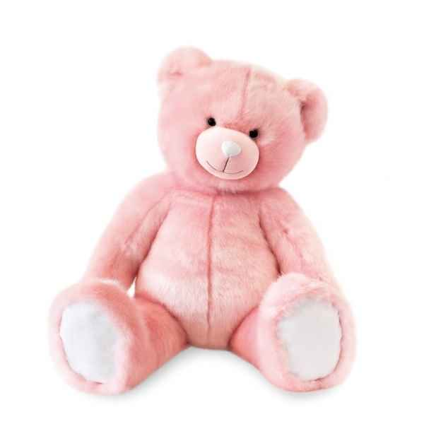 Peluche Ours collection 80 cm - rose sorbet histoire d\'ours -DC3459