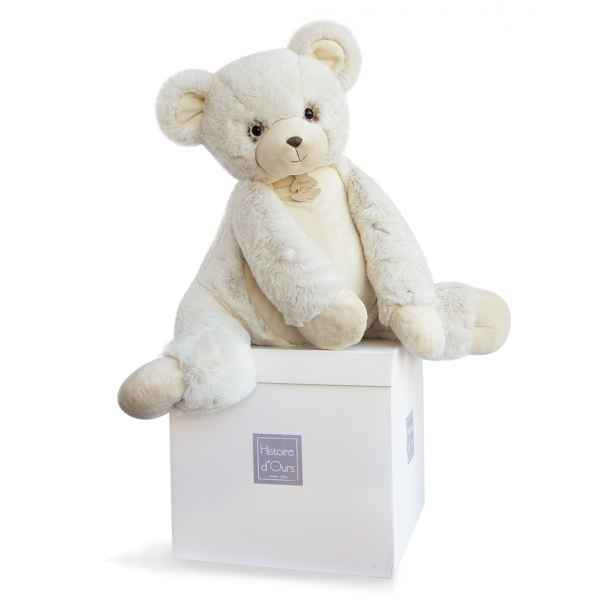 Peluche softy - ours ecru gm histoire d'ours -2717