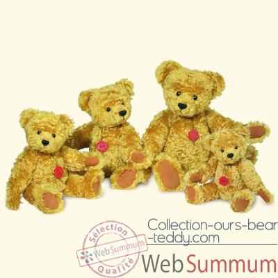 Video Peluche Hermann Teddy Original® ours classic en mohair - 14030 6
