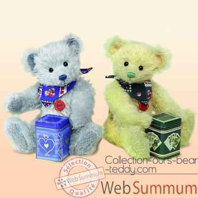 "Peluche Hermann Teddy Original® ours \""Tea - party\\\"" edition limitee - 14636 0"