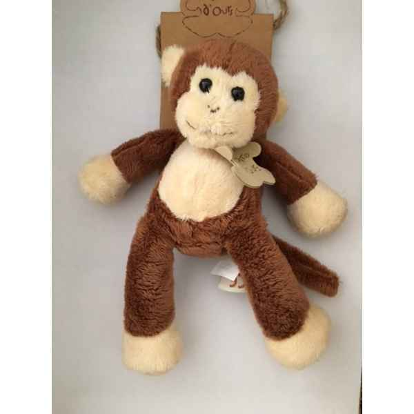 Video Peluche Gros ours marron grand modele -ho1243M