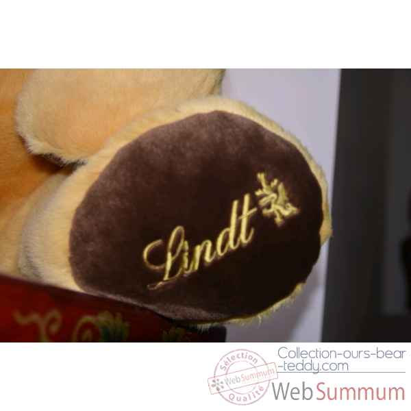 Peluche ours geant Chocolats Lindt Edition limitee -3