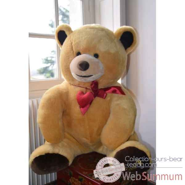 Peluche ours geant Chocolats Lindt Edition limitee