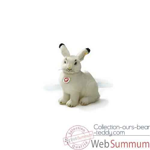 Video Peluche Steiff Lievre des neiges studio assis-501203