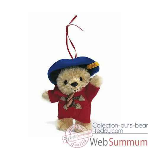 Peluche Steiff Ours Paddington ornement mohair-354717