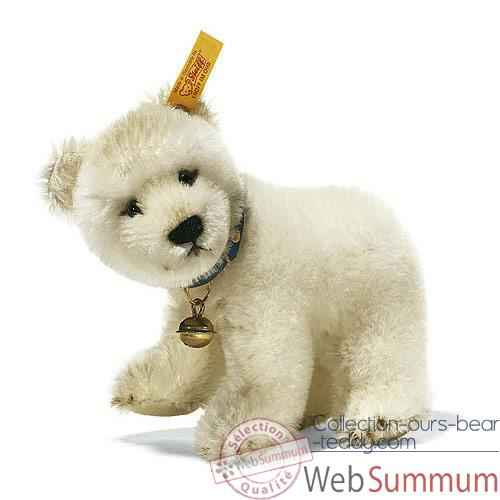 Video Peluche Steiff Ours Polaire mohair debout -st031212