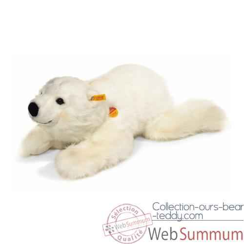 Peluche Steiff Ours polaire Snobby couche-113024