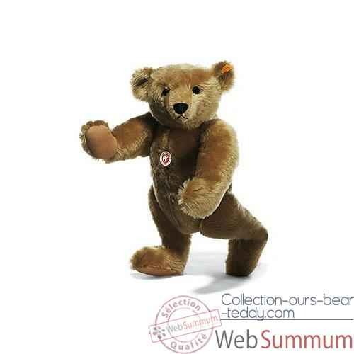 Video Peluche Steiff Ours Teddy 1906 mohair beige -st000256