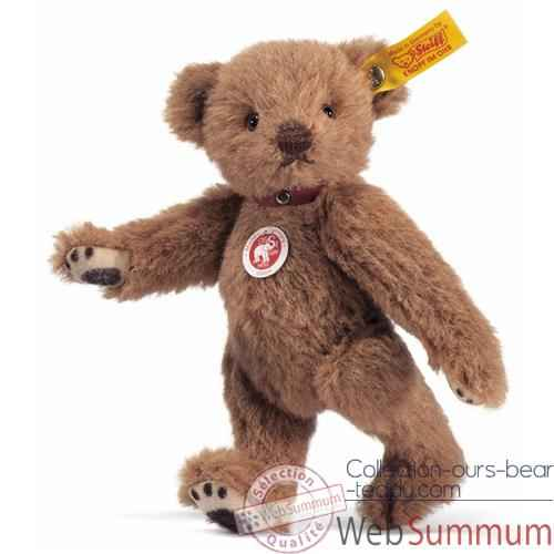 Video Peluche Steiff Ours Teddy brun-roux -st027710