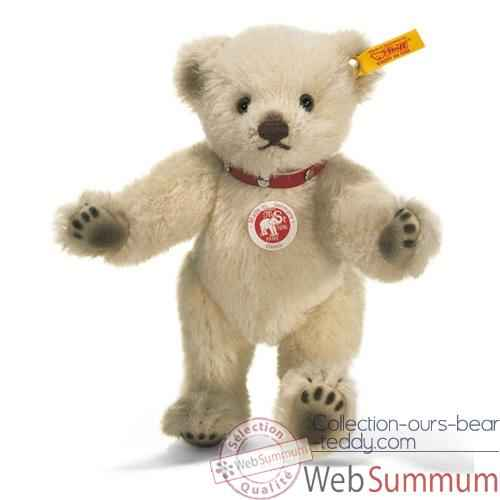 Video Peluche Steiff Ours Teddy creme -st027680