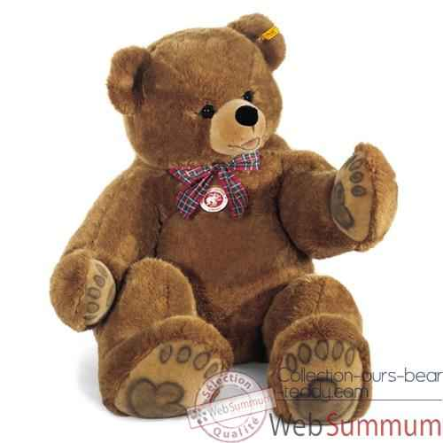 Video Peluche Steiff Ours Teddy studio brun-500572