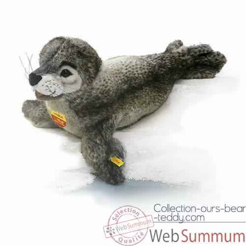 Video Peluche Steiff Phoque studio couche-501302