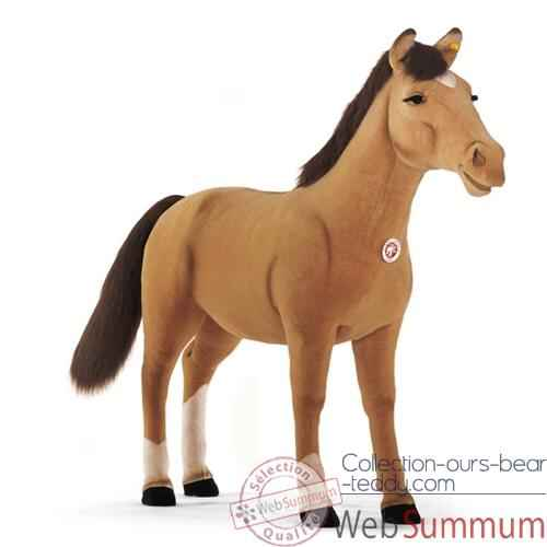 Peluche Steiff Poney studio brun clair-523403