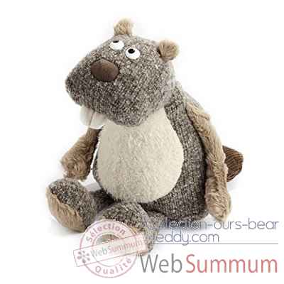 Peluche Castor It-boy Sigikid -38455