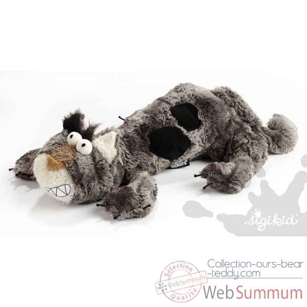 Peluche Chat Paul platt Sigikid -38058