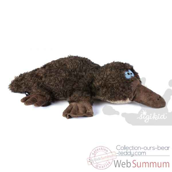 Peluche Ornithorynque Platy snappy Sigikid -38318