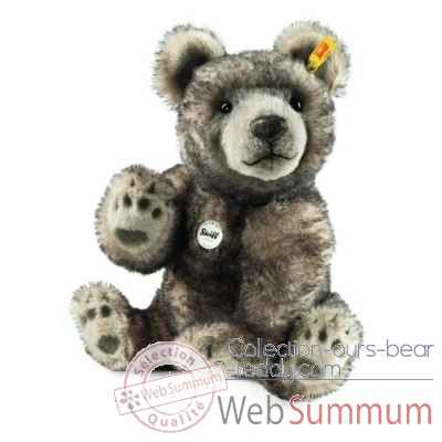 Once bearry masterpiece, gris chine STEIFF -041495